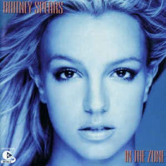 CD Britney Spears-In The Zone, original