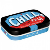 Cutie metalica cu bomboane - Chill Pills