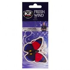 Odorizant carton cu forma de fluture FRESH WIND Men, K2 CDS593