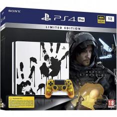 Consola SONY PlayStation 4 Pro (PS4 Pro), 1TB, Death Stranding Limited Edition + joc Death Stranding