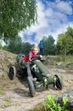 Cauciuc 12x2,50-9 all terrain, Berg Toys