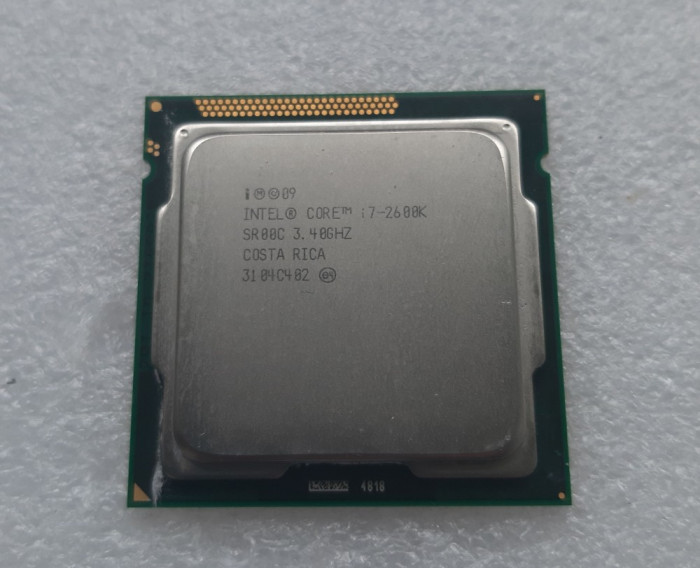 Procesor Intel Core i7 2600K 3.40GHz