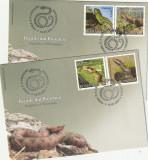 Romania 2011-FDC-Reptile din Romania
