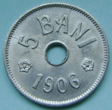 ROMANIA, 5 BANI 1906 J_aUNC-UNC * cod 115