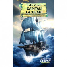 Capitan la 15 ani - Jules Verne(ed.Stefan)