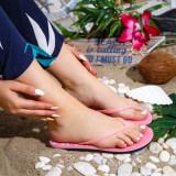 Papuci Mison roz