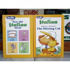 Love to learn italian 2 volume , Bertlitz Publications , 2003