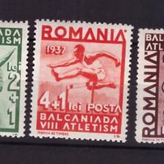 1937 - Balcaniada de Atletism, serie neuzata