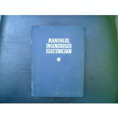Manualul inginerului electrician vol. III - Paul Bunescu si Paul Cartianu
