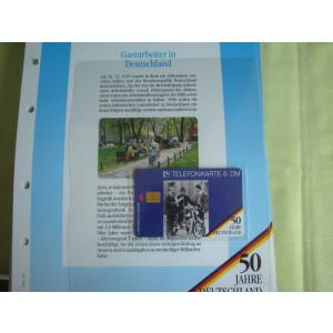 3 Cartele Telefonice 50 Jahre Deutschland - Exponate NOI / 5