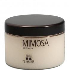 Sare Exfolianta pentru Corp TREETS cu Santal si Mimoza 450 ml
