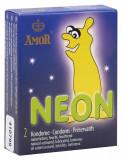 Cumpara ieftin Prezervative Fosforescente Amor Neon