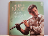 Aurele Nicolet (Flute) – Mozart / Bach – 2LP  (1971/Philips /RFG) - Vinil/ Nou, Electrola