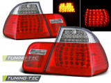 Stopuri LED Bmw E46 09.01-03.05 SEDAN Rosu Alb LED