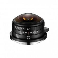 Obiectiv Manual Venus Optics Laowa 4mm f/2.8 Fisheye pentru Sony E-mount
