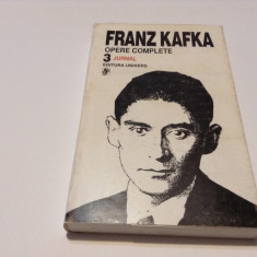 KAFKA  JURNAL  OPERE  VOL  3    RF14/4