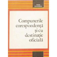 Compunerile corespondenta si cu destinatie oficiala (1979)