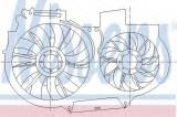 Ventilator, radiator AUDI A6 (4B2, C5) (1997 - 2005) NISSENS 85247