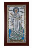 Maica Domnului de la Athos, Icoana din Argint 925, 130x80mm Cod Produs 1411