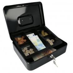 Casetă Bani EUROPE 300 negru