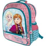 Ghiozdan Rucsac pentru scoala Elsa si Anna Frozen Disney, Fata, Astro