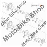 MBS Kit semering ax pinion fata KTM 250 EXC / MXC / SX / SXS / XC-W / XCF-W, Cod Produs: 00050000941KT