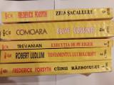 SERIA THRILLER - 5 VOLUME - FORSYTH/LUDLUM/TREVANIAN/CUSSLER