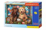 Cumpara ieftin Puzzle Stowaway Pups, 300 piese