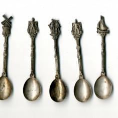 Set 5 x Lingurite Argint 35 grame Marcaj