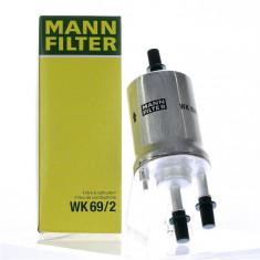 Filtru benzina Volkswagen Golf V, VI, Octavia II, Fabia I, II Mann 10887