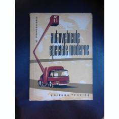 Autovehicule speciale moderne - Vasile Parizescu