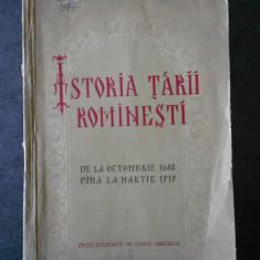 C. GRECESCU - ISTORIA TARII ROMANESTI DE LA OCTOMBRIE 1688 PANA LA MARTIE 1717