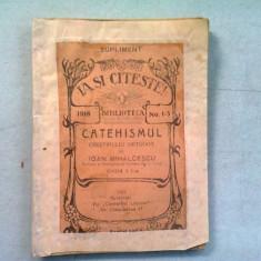 CATEHISMUL CRESTINULUI ORTODOX - IOAN MIHALCESCU