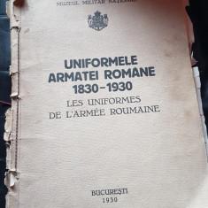 Album Uniformele Armatei Romane 1830 - 1930