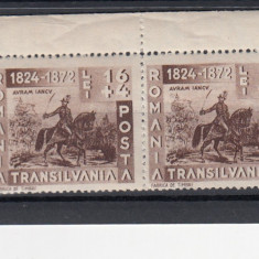 ROMANIA 1942  LP 150  AVRAM  IANCU  PERECHE   MNH
