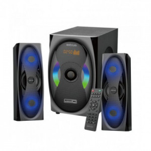 Boxe Audio 2.1 Astrum MS500 120W, Bluetooth, FM, USB, cu Telecomanda