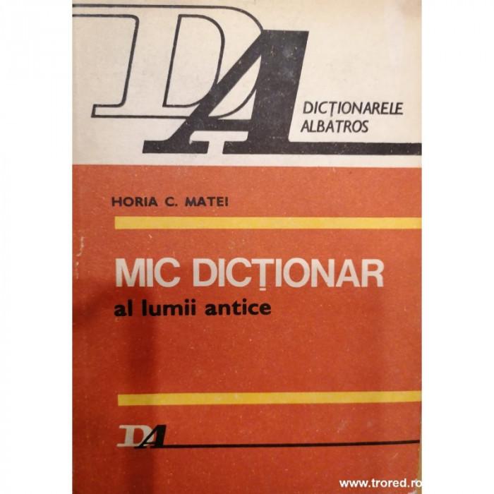 Mic dictionar al lumii antice