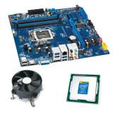 Kit Placa de Baza Intel DH87RL, Intel Quad Core i7-4770, Cooler