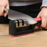 Aparat Pentru Ascutit Cutite Knife Grinder cu Maner Anti Alunecare 3 Nivele