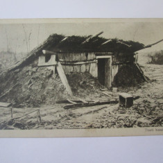 Carte postala circulata 1918 Carei,cazemata DE ofiteri austro-ungari WWI