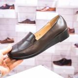 Pantofi cu platforma maro Felimia -rl