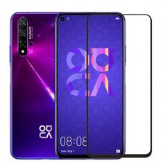 Folie sticla securizata 5D FULL GLUE pentru Huawei Nova 5T