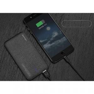 Baterie Externa Samsung Galaxy S5 Dual USB 10000mAh USAMS Mozaic Negru