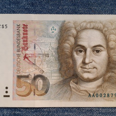 50 Mark 1989 Germania RFG, marci germane