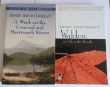 Henry David Thoreau - Walden + A Week on the Concord and Merrimack Rivers 2 vol.