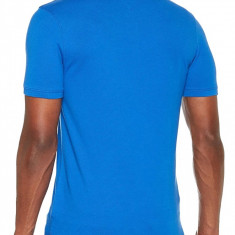 Tricou Tommy Jeans Essential Detail Polo Slim Fit, Slim Fit, culoare Albastru, marime 2XL EU