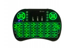 Mini tastatura iluminata in 3 culori , acumulator , universala , tv smart