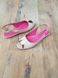 LICHIDARE STOC! Sandale dama noi piele naturala foarte usoare superbe 37