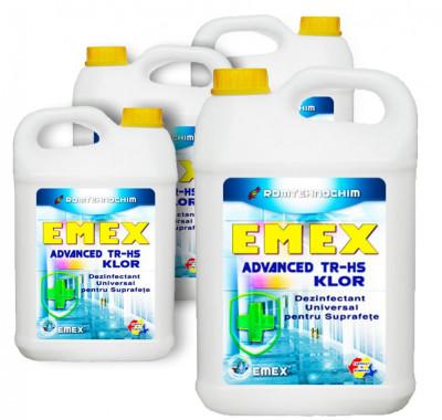 """Dezinfectant Biocid """"Emex Advanced TR-HS Klor"""", Pachet 20 Litri foto"""