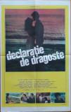 """Cumpara ieftin Afisul filmului """"Declaratie de dragoste"""" cu Ion Caramitru, Tamara Buciuceanu"""